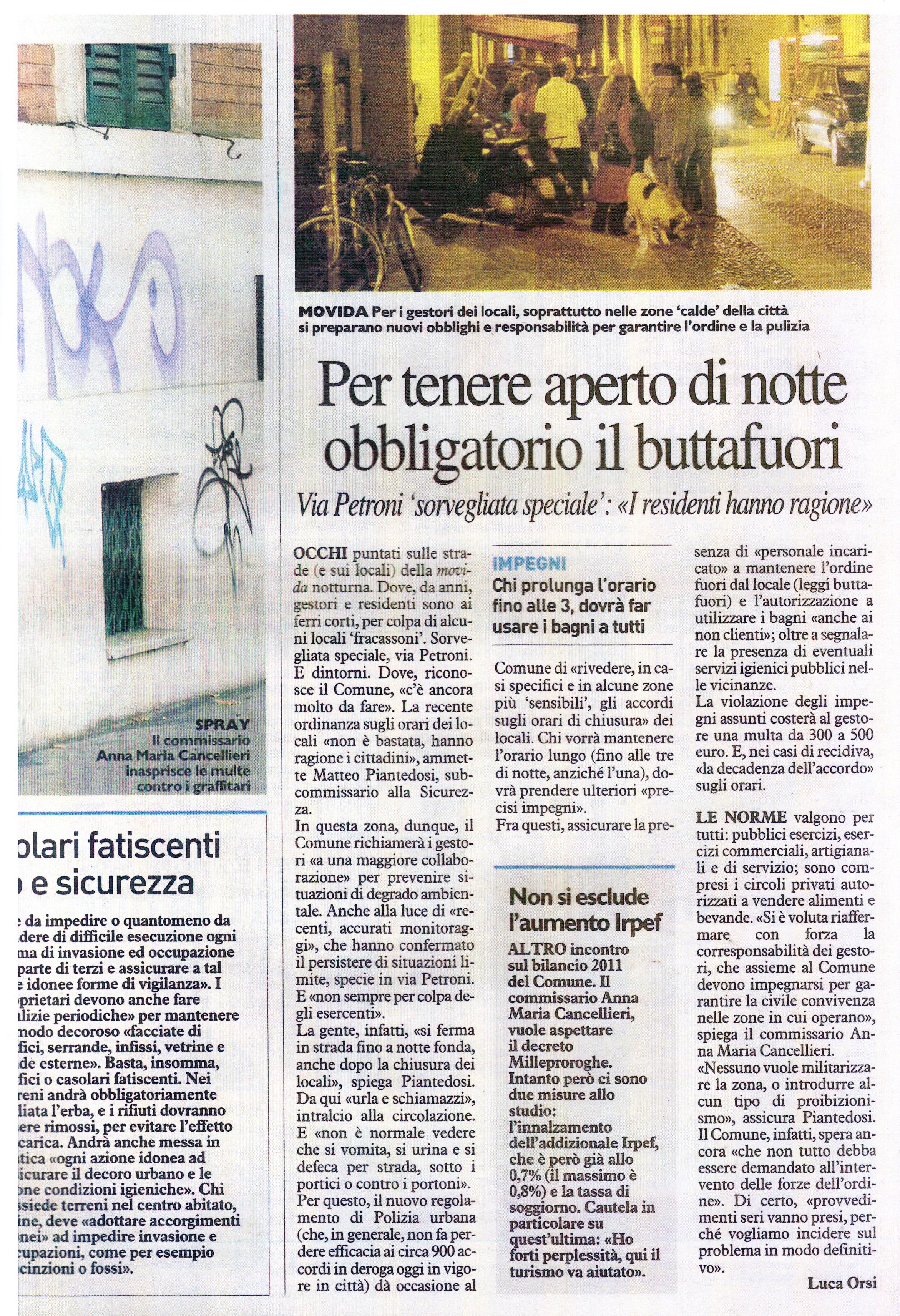 Awesome Tassa Soggiorno Bologna Photos - Carolineskywalker ...